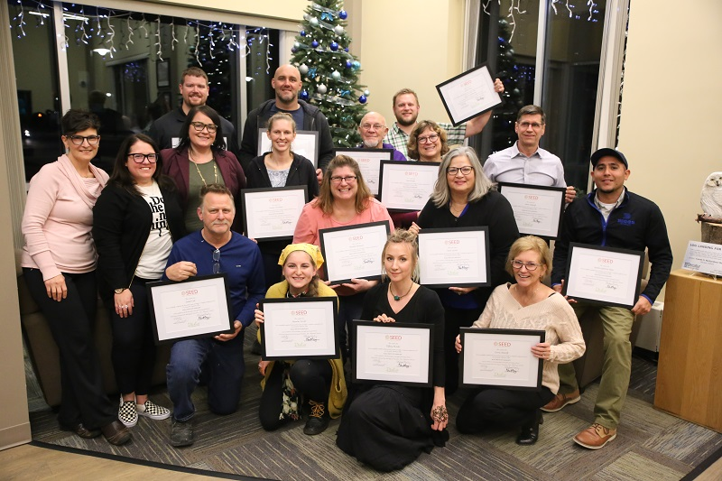2019 BUILD entrepreneur graduates
