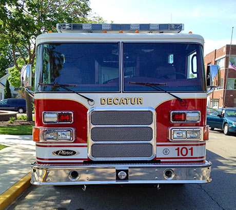 Decatur Fire Truck