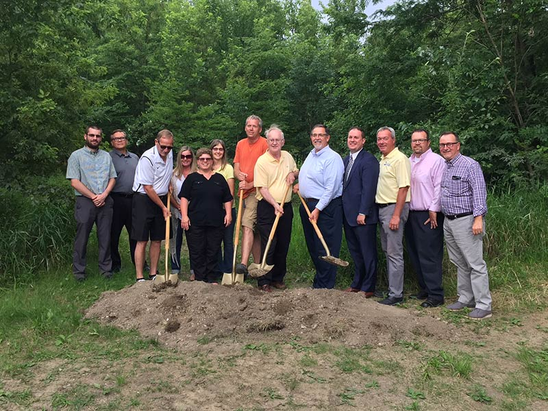 Nature Preserve Groundbreaking - The St. Marys Nature Preserve adds about ½ mile to Rivergreenway Trail